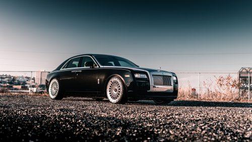 Rolls Royce Ghost on Rotiform LHR-M