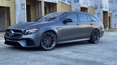 Mercedes W213 E63 Wagon on ANRKY AN28