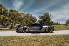 Lamborghini Aventador S on ANRKY AN30