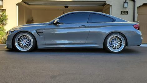 BMW F82 M4 CS on HRE Classic 300