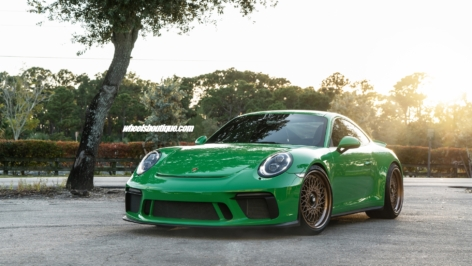 Porsche 991 GT3 Touring on HRE Vintage 501