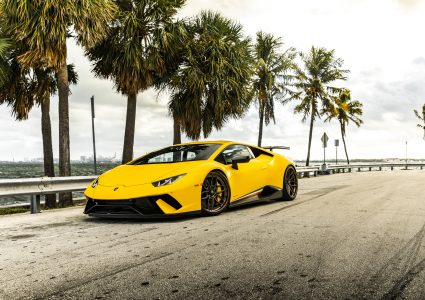 Lamborghini Huracan Performante on ANRKY AN36