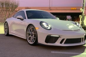 Porsche 991 GT3 Touring on BBS Magnesium Wheels