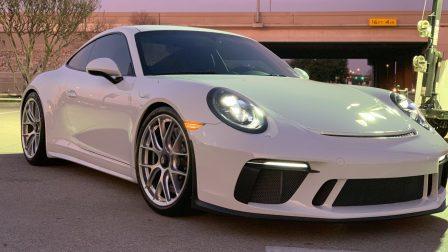 Porsche 991 GT3 Touring on BBS Magnesium Wheels