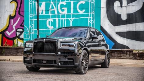 Rolls-Royce Cullinan on Forgiato Singolo-M