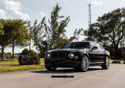 Bentley Mulsanne on ANRKY AN19