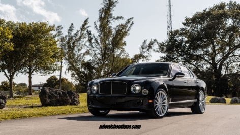 Bentley Mulsanne on ANRKY AN19