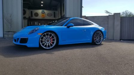 Porsche 991 GTS on Forgeline GT1