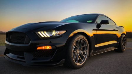 Ford Mustang Shelby GT350 on HRE R101 Lightweight