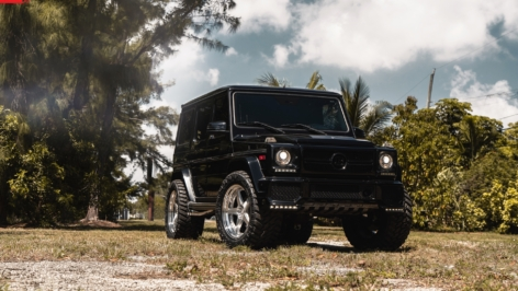 Mercedes G55 on ANRKY RS5