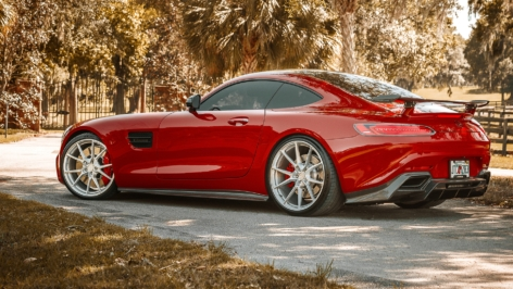 Mercedes-Benz AMG GTS on ANRKY AN12