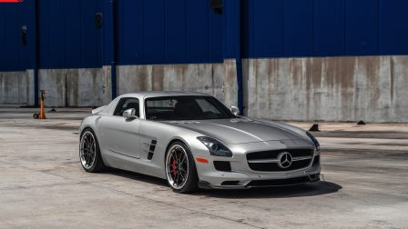 Mercedes SLS AMG on ANRKY AN34