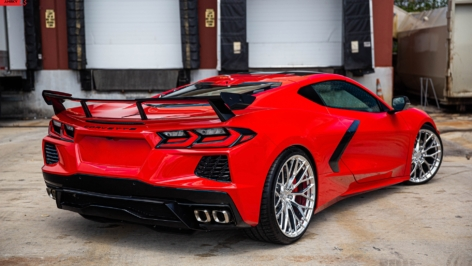 Corvette Stingray C8 on ANRKY AN10