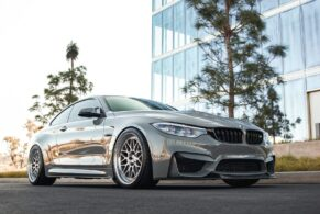 BMW F82 M4 CS on HRE Classic 300