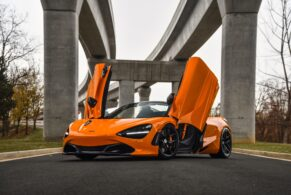 McLaren 720S Spider on HRE R101 Lightweight
