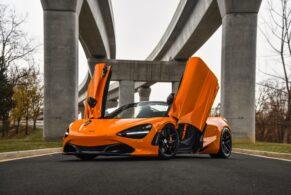 McLaren 720S Spider on HRE R101 Lightweight