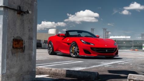 Ferrari Portofino on HRE S204