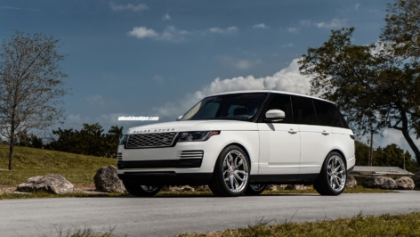 Land Rover Range Rover on HRE P201