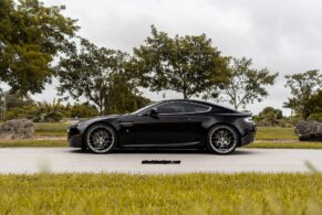 Aston Martin V8 Vantage on HRE P40SC
