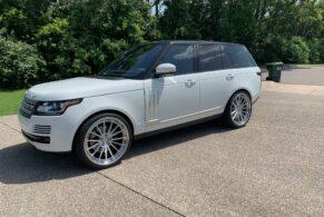 Land Rover Range Rover on ANRKY AN39