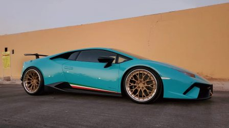Lamborghini Huracan Performante on ANRKY AN30
