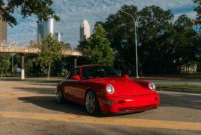 Porsche 964 C4 on Rotiform STR