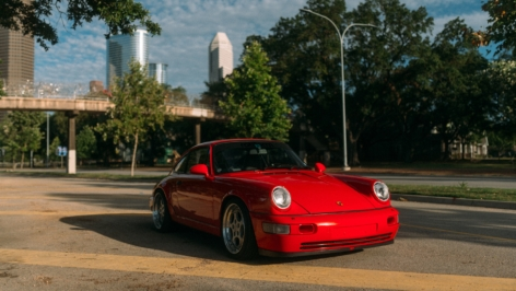 Porsche 964 C4 on Rotiform STR