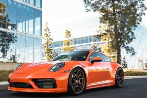 Porsche 992 Carrera on HRE R101 Lightweight