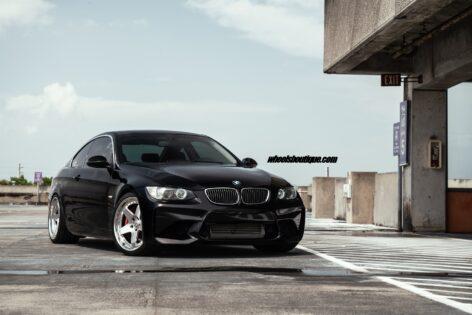 BMW E92 335i on HRE C105