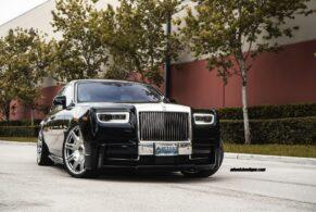Rolls-Royce Phantom EWB on Novitec Wheels