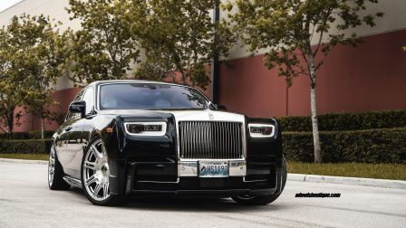Rolls-Royce Phantom EWB on Novitec Wheels