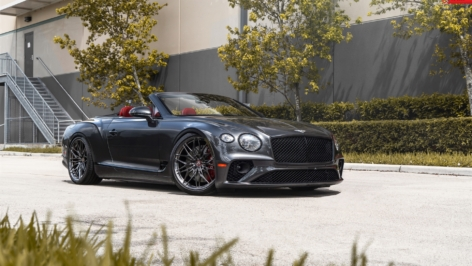 Bentley Continental GTC on ANRKY S1-X1