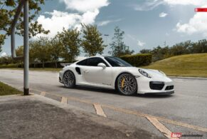 Porsche 991.2 Turbo S on ANRKY AN30