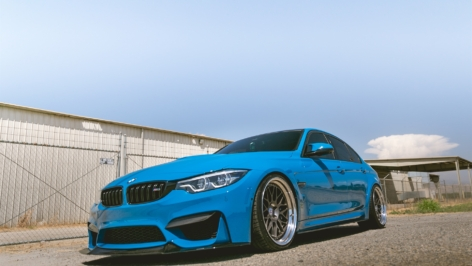 BMW F80 M3 on HRE Classic 300