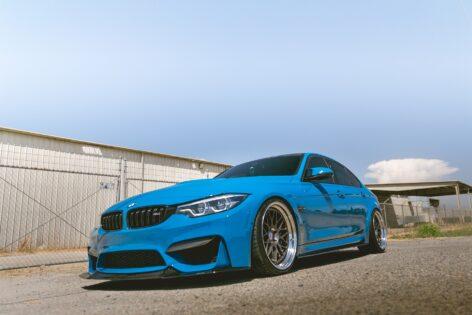 BMW F80 M3 on HRE Classic 300