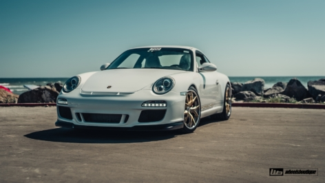 Porsche 997.2 Carrera S on HRE S101