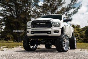 Dodge Ram 3500 Limited on Fuel Forged Wheels