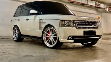 LAND ROVER RANGE ROVER (L322) ON ANRKY AN34