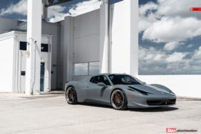 FERRARI 458 SPIDER ON ANRKY S3-X3
