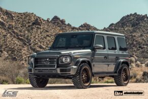 MERCEDES-BENZ W463A G550 ON HRE 540R