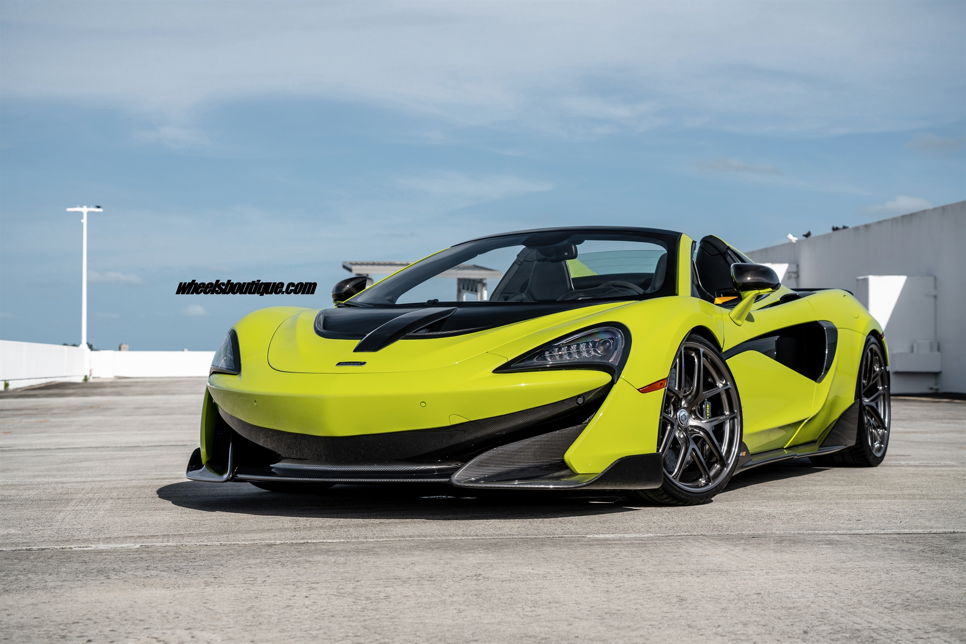 MCLAREN 600LT SPIDER ON HRE R101 LIGHTWEIGHT