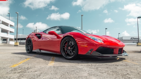 FERRARI 488 GTB ON ANRKY S3-X3