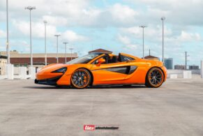 McLaren 570S Spider on HRE S201