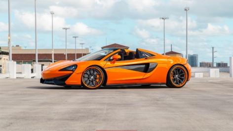 McLaren 570S Spider on HRE S201