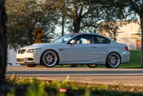 BMW E92 M3 on BBS LM-R
