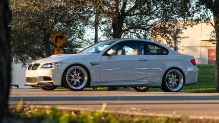 BMW E92 M3 on BBS LM-R