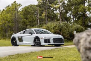 AUDI MK2 R8 V10 PLUS ON HRE S101SC