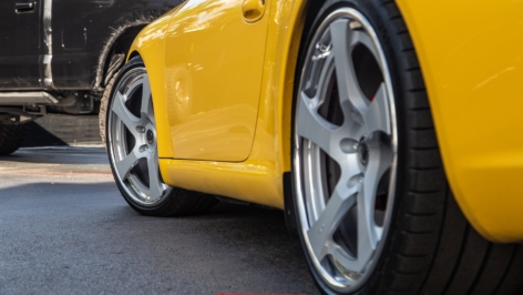 PORSCHE 997.1 CARRERA ON HRE RS102