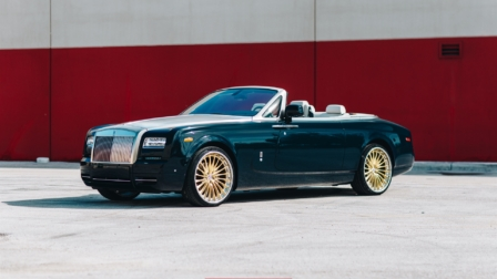 Rolls-Royce Phantom Drophead Coupe on HRE S209H