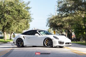 PORSCHE 991.1 TURBO S CABRIOLET ON HRE R101 LIGHTWEIGHT